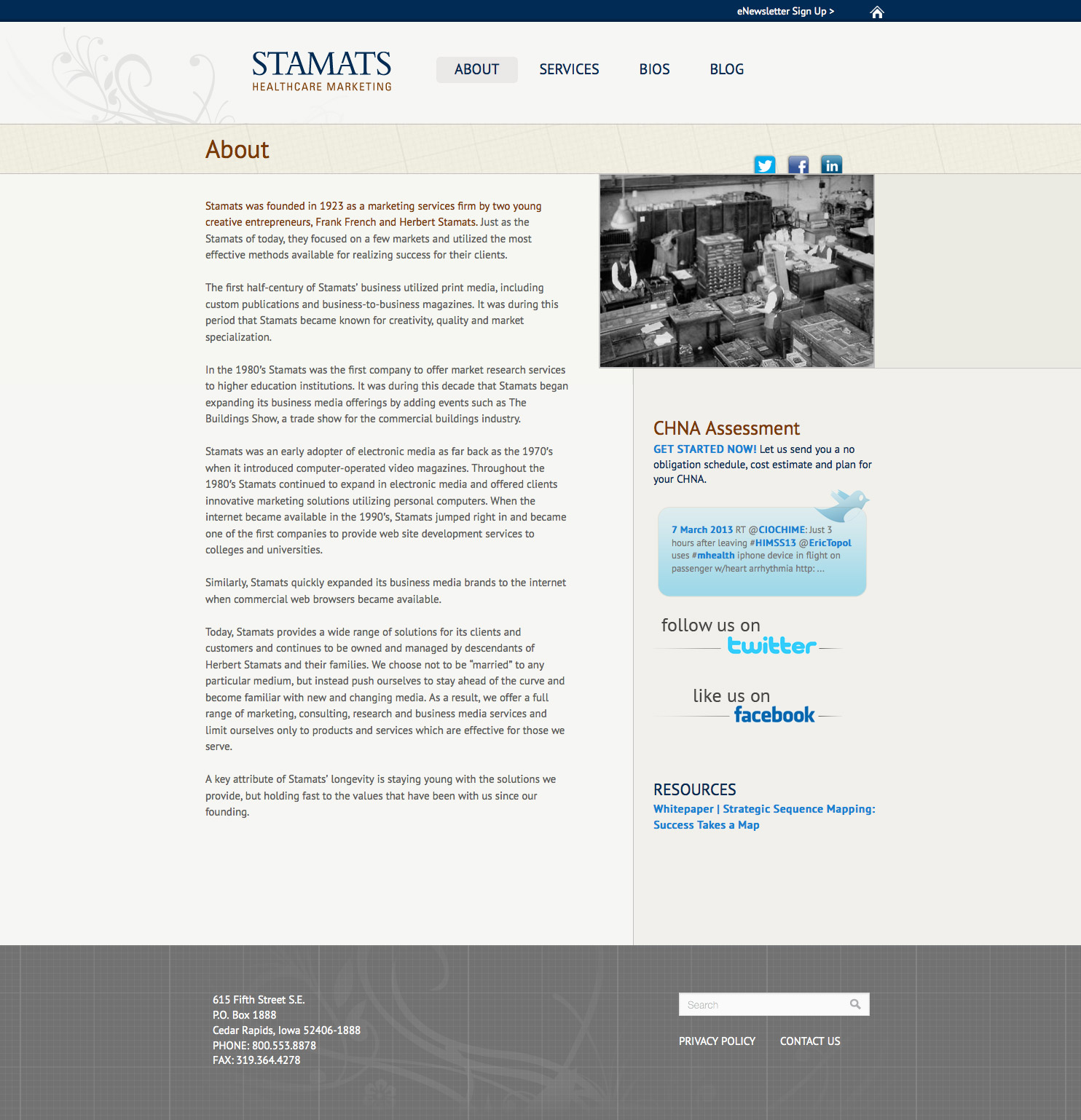 Stamats-Healthcare-Marketing-About