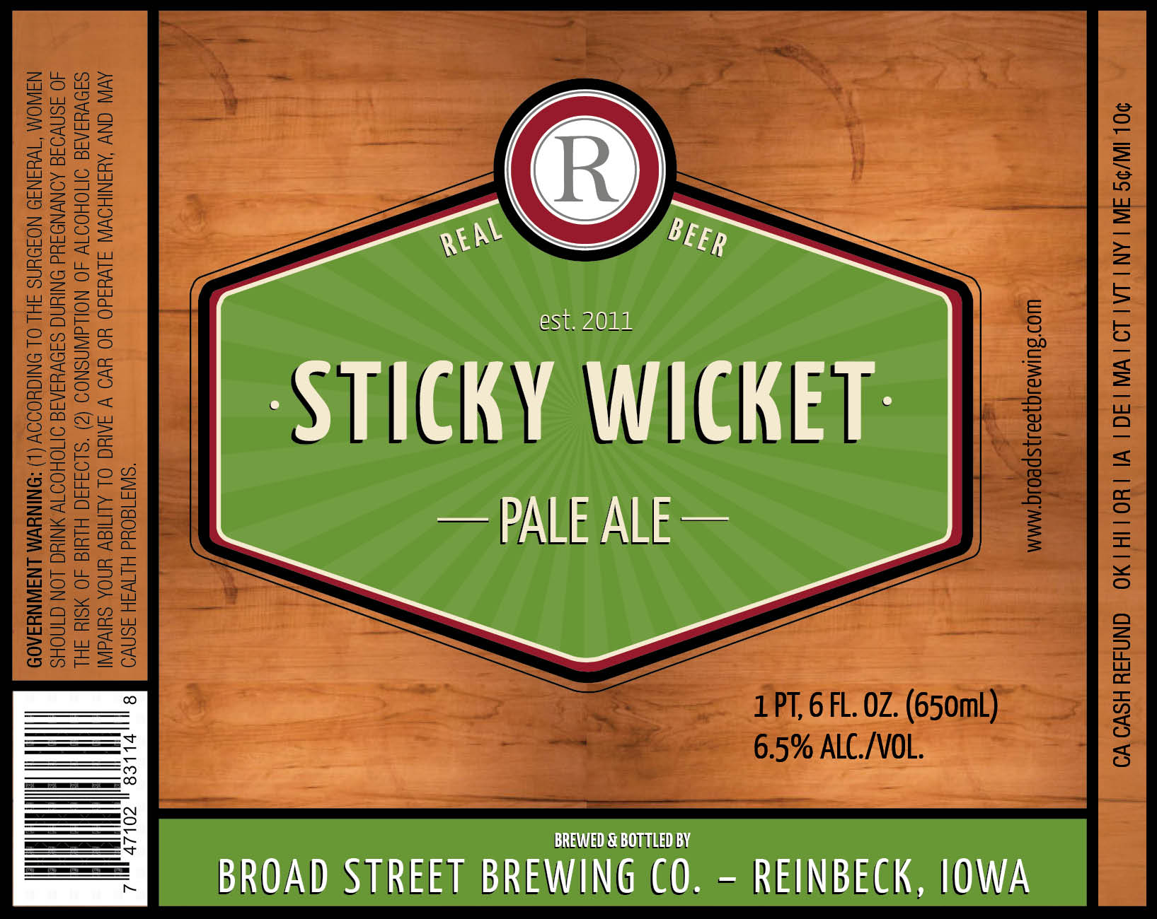 BroadStreetBeerLabel-StickyWicket