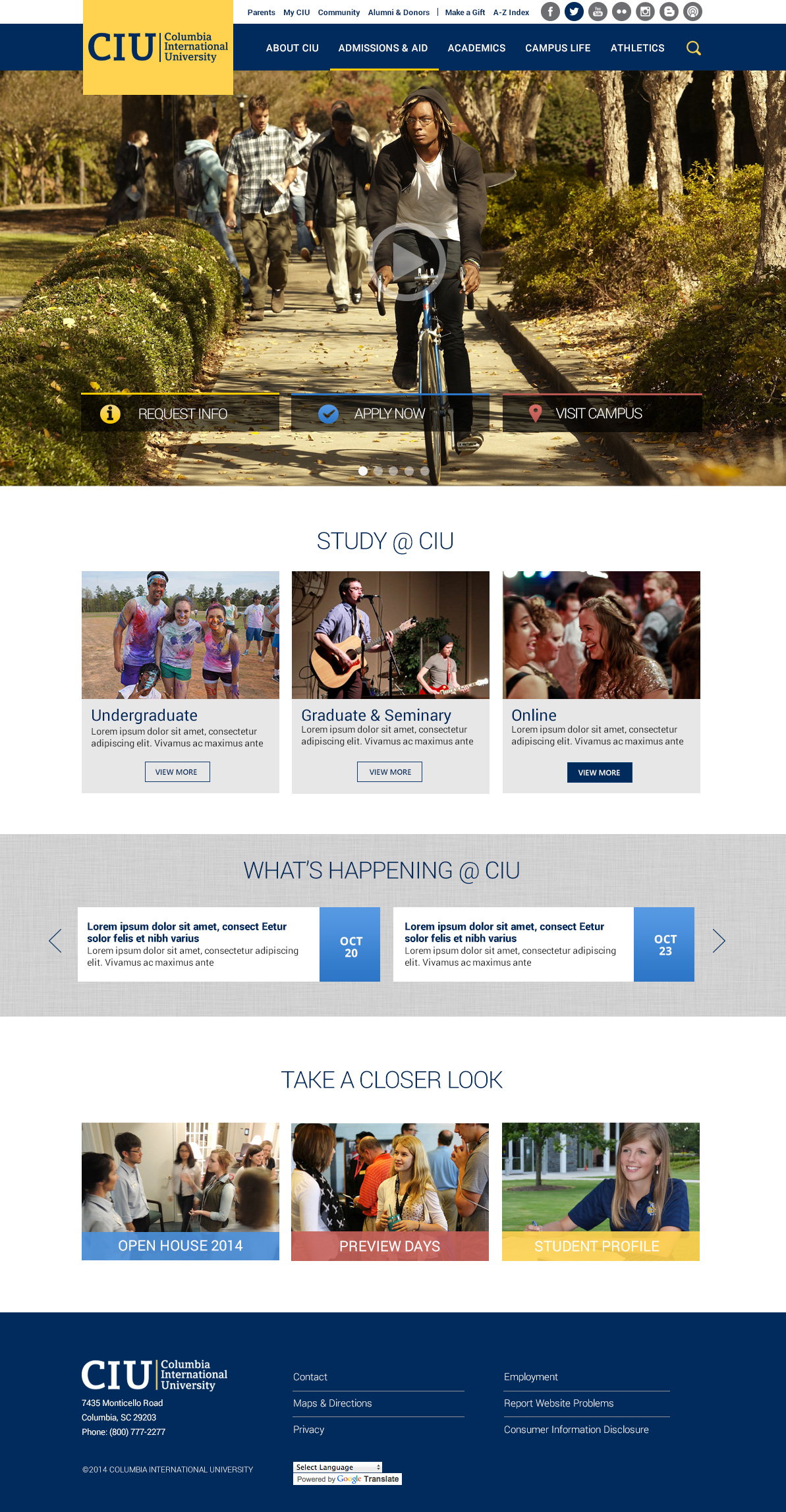 CIU-Homepage