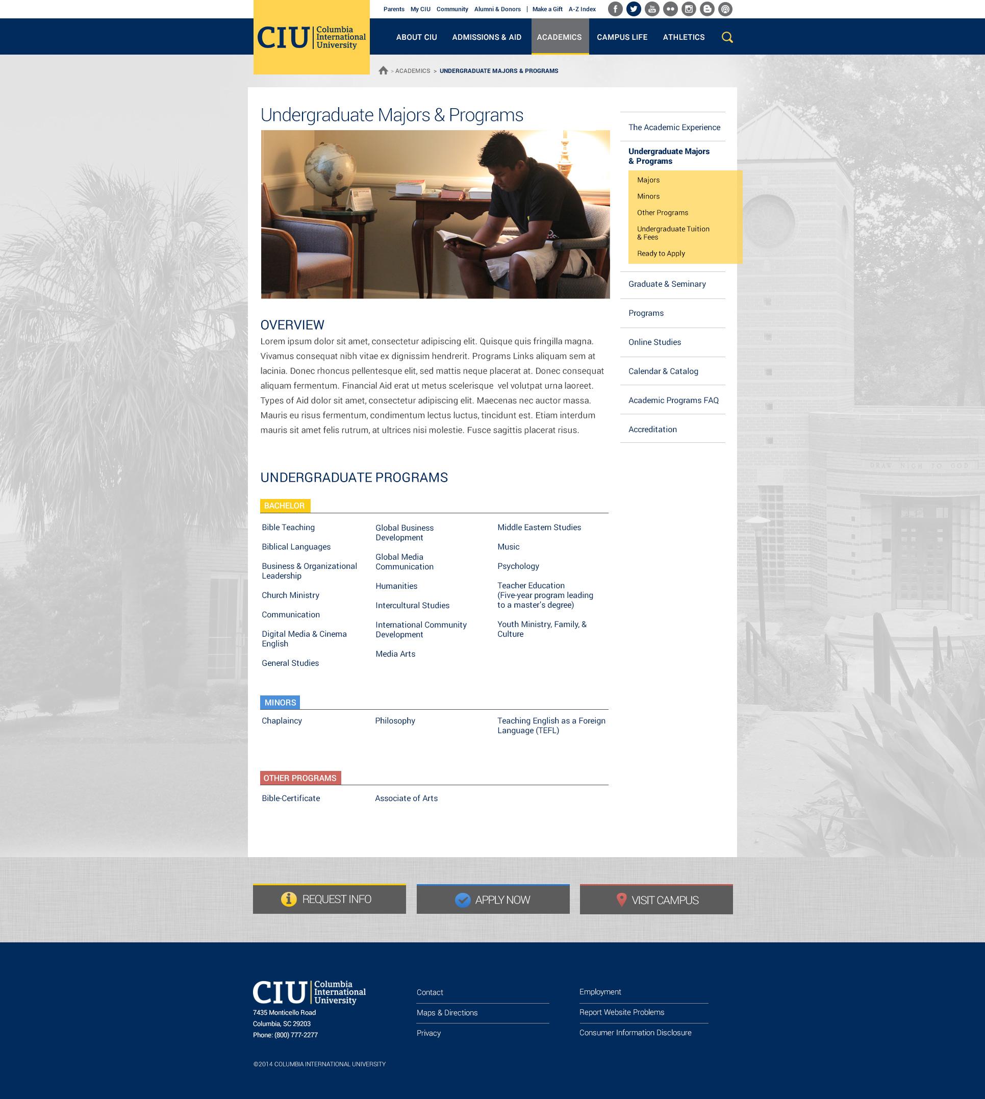 CIU-UndergraduateMajors-960